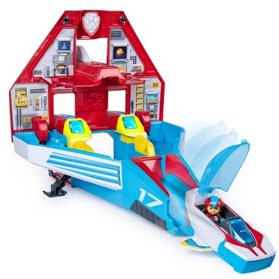 Paw Patrol Super Mighty Pups Transforming Jet Command Center   Ryder by Ryder