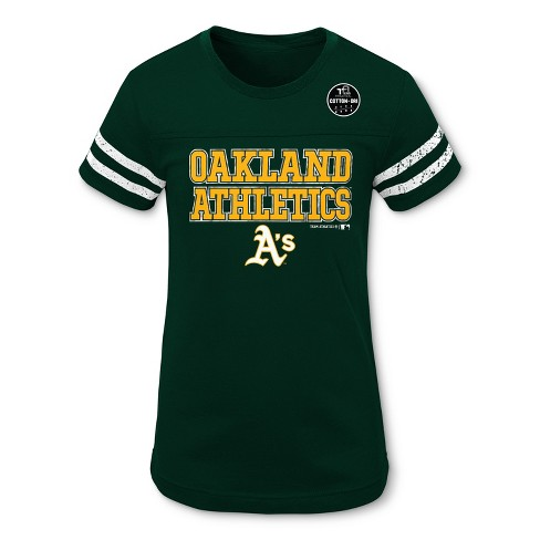 finest selection dc824 e0945 MLB Oakland Athletics Girls' Double Play T-Shirt