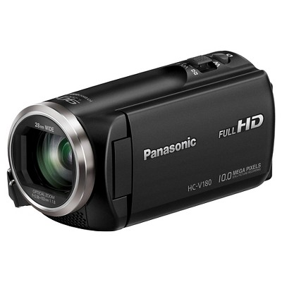 Panasonic HC-V180K Full HD Camcorder - Black (HC-V180K)