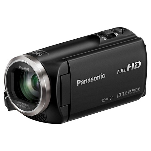 Panasonic HC-V180K Full HD Camcorder - Black (HC-V180K) : Target on