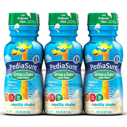 PediaSure® Fiber Vanilla - 8 fl oz/6ct Bottles - image 1 of 4