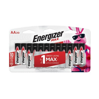 Energizer Max General Purpose Battery AA 20 ct - (E91LP-20)