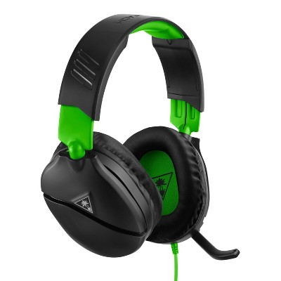 Turtle Beach Recon 70 Wired Gaming Headset for Xbox One/Series X|S - Black/Green