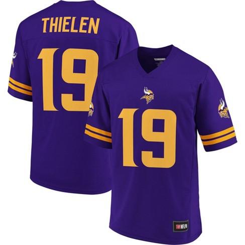 NFL Minnesota Vikings Adam Thielen Men's Short Sleeve Jersey - L
