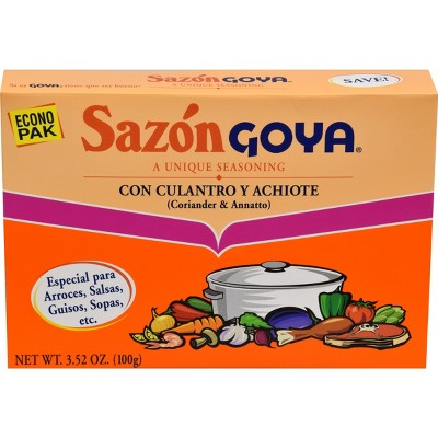 Goya Coriander & Annatto Seasoning 3.52oz