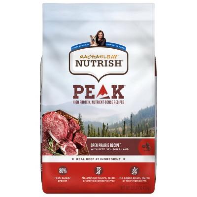Rachael Ray Nutrish Peak Grain Free Open Range Recipe with Beef, Venison & Lamb Dry Dog Food