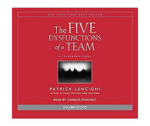 Five Dysfunctions of a Team (Unabridged) (CD/Spoken Word) (Patrick Lencioni) - image 1 of 1