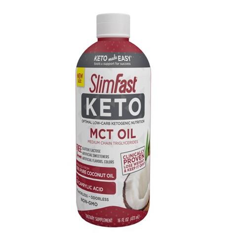 SlimFast Keto MCT Oil - 16oz - image 1 of 3