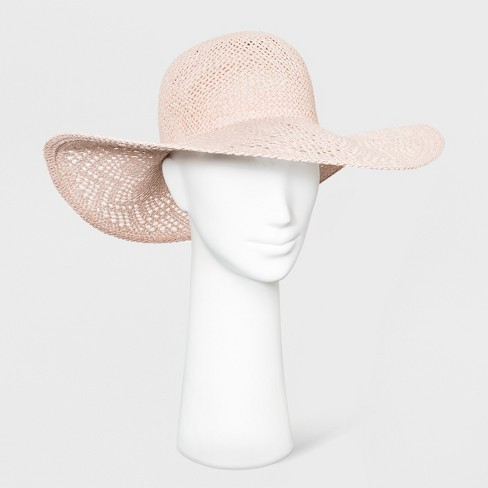 4e25f4d3ab607 Women's Floppy Hat - A New Day™ Blush
