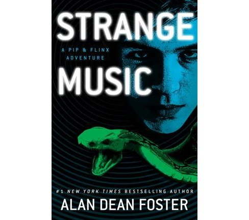 Strange Music -  (Pip & Flinx Adventure) by Alan Dean Foster (Hardcover) - image 1 of 1