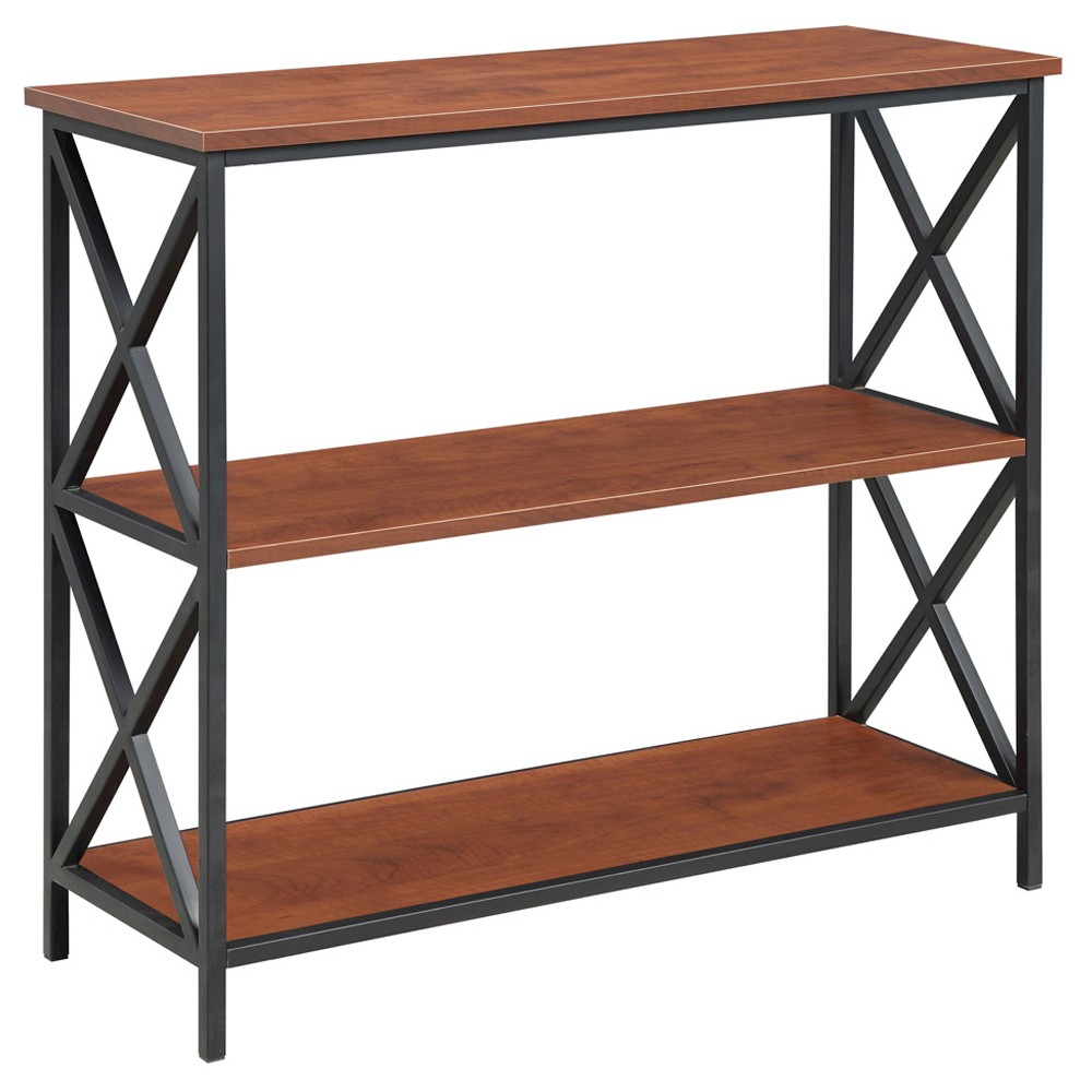"Image of ""29.25"""" Tucson 3 Tier Bookcase - Johar Furniture, Brown"""