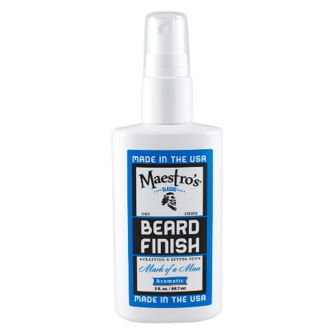 Maestro's Classic Beard Shine Mist - Mark of a Man Blend - 3oz - BF-MOM-3 - image 1 of 4