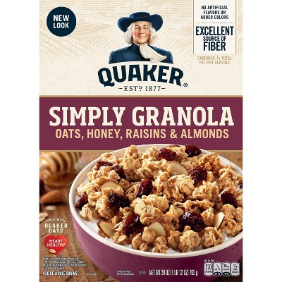 Breakfast Cereal: Simply Granola