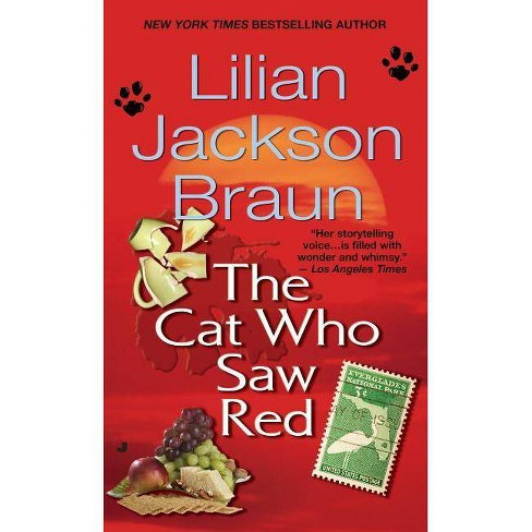 The Cat Who Saw Red - (Cat Who...) by  Lilian Jackson Braun (Paperback) - image 1 of 1