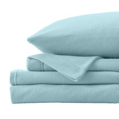 Great Bay Home Christina Solid Fleece Sheet Sets