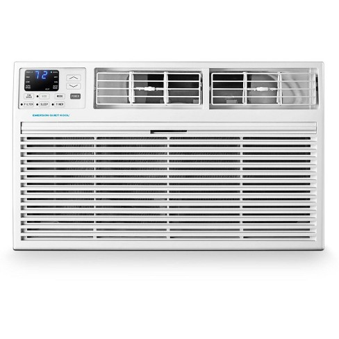 Emerson Quiet Kool 230V 10,000 BTU Through the Wall Air Conditioner with 10,600 BTU Supplemental Heating - image 1 of 4