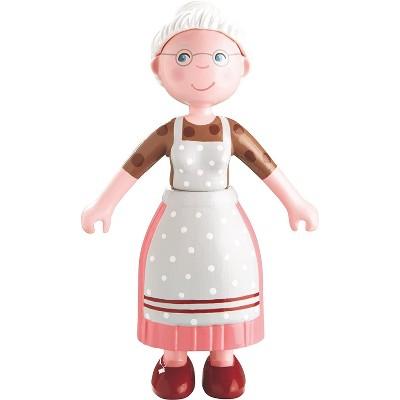 "HABA Little Friends Grandma Elli - 4.5"" Dollhouse Toy Figure"