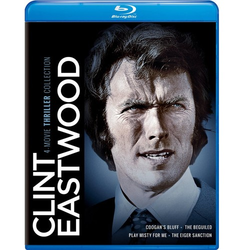 Clint Eastwood:4 Movie Thriller Colle (Blu-ray) - image 1 of 1