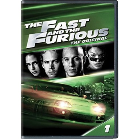 The Fast and the Furious (DVD) - image 1 of 1