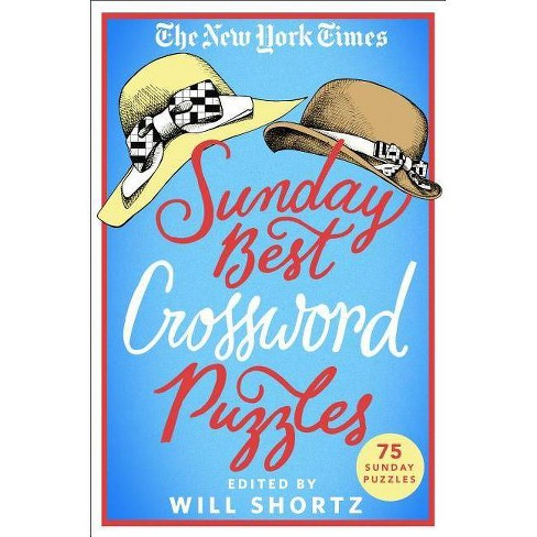 The New York Times Sunday Best Crossword Puzzles - (Paperback) - image 1 of 1