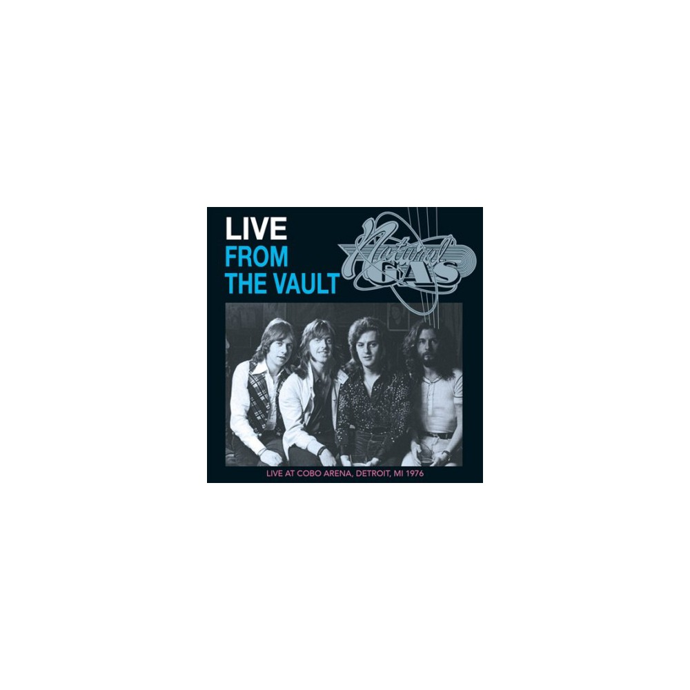 Natural Gas - Live From The Vault (CD)