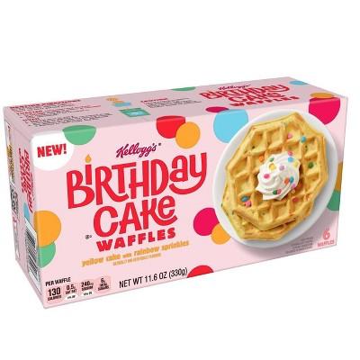 Kellogg's Kids Frozen Birthday Cake Waffles - 11.6oz