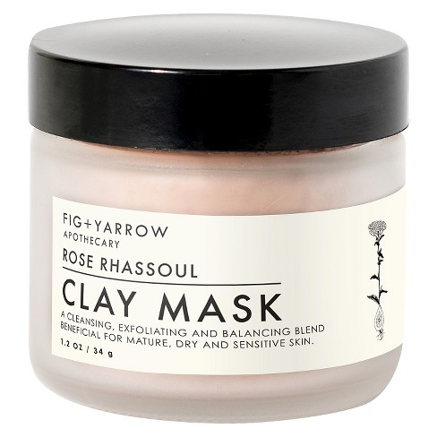Fig+Yarrow Rose Clay Mask, 1.2oz - image 1 of 4