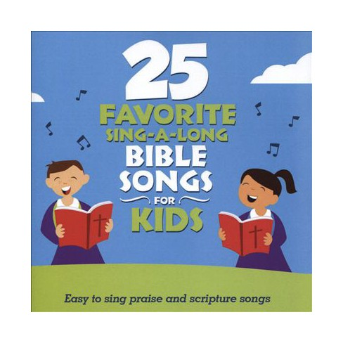 Songtime Kids - 25 Favorite Sing-a-long Bible Songs For Kids (CD)