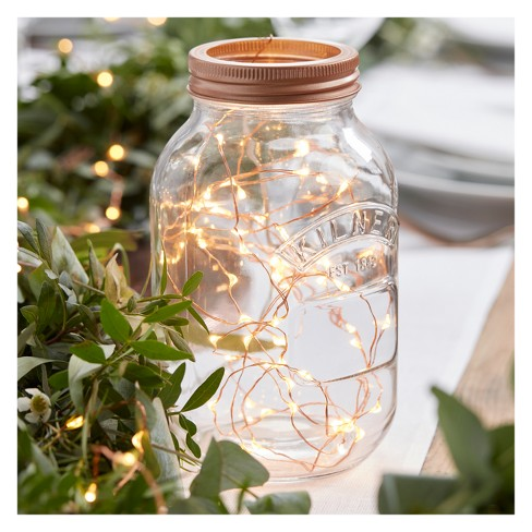 Botanics Led String Table Lights Rose Gold - image 1 of 3