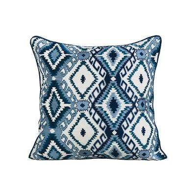 "carol & frank 18"" x 18"" Jax Embroidered Pillow"