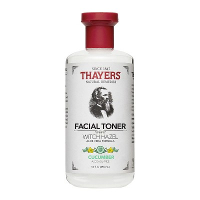 view Thayers Witch Hazel Alcohol Free Toner Cucumber - 12 oz on target.com. Opens in a new tab.