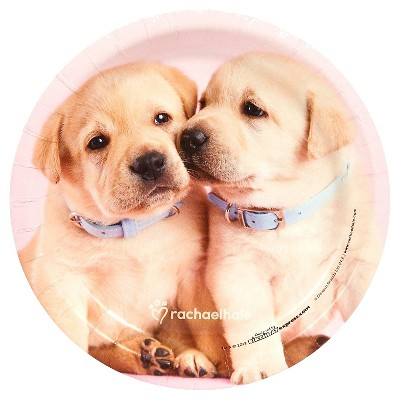 8ct Rachael Hale Glamour Dogs Dessert Plate