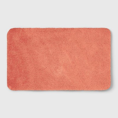 20 x34  Soft Nylon Solid Bath Rug Coral - Opalhouse™