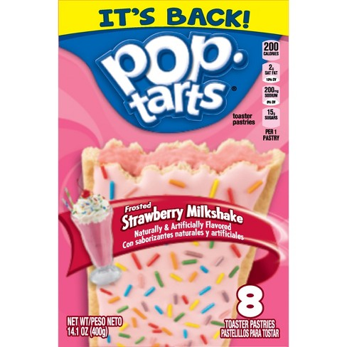 Pop Tarts Strawberry Milkshake