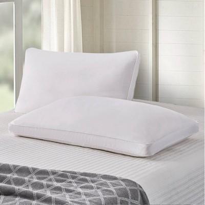 Standard 2pk Goose Feather & Down Fiber Side Sleeper Bed Pillow - Scott Living