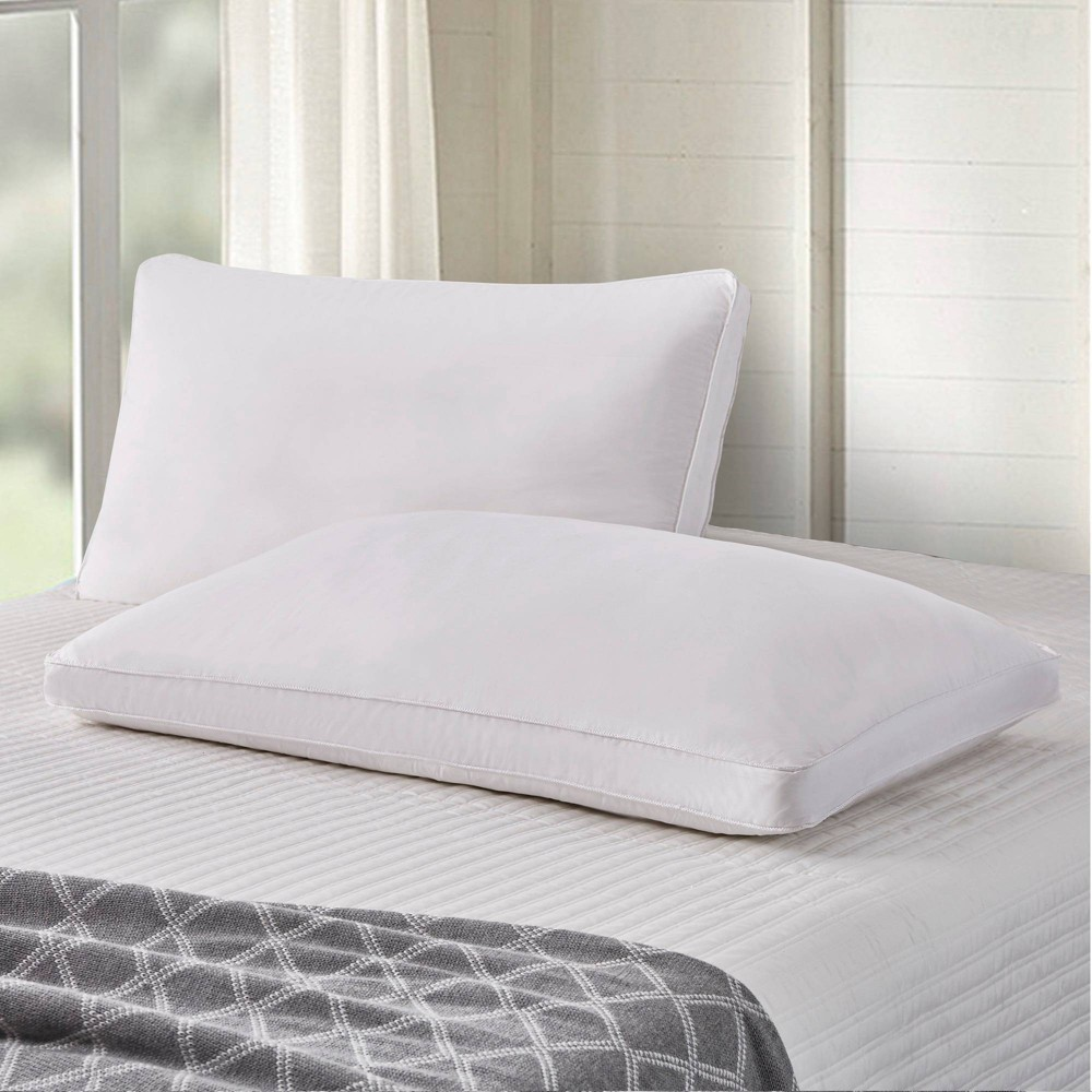 Best 2pk Goose Feather & Down Fiber Side Sleeper Bed Pillow - Scott Living