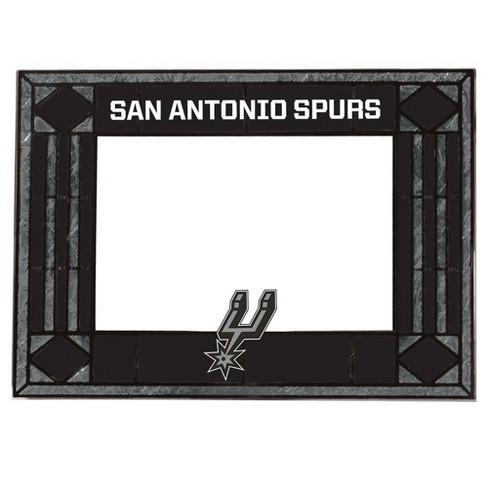 """NBA San Antonio Spurs Art Glass Frame 4""""x6"""" - image 1 of 1"""