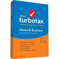 TurboTax Home & Business 2019