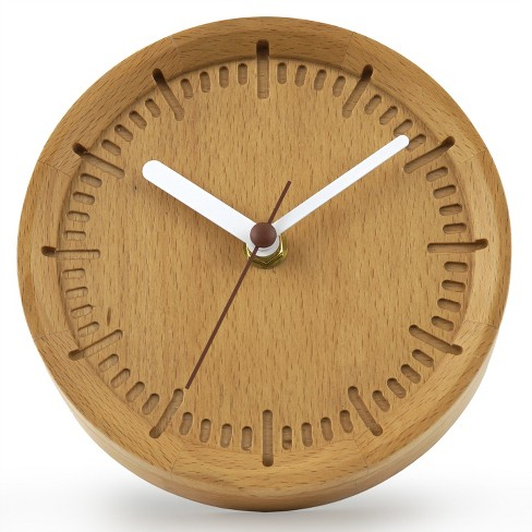 Solid Beech Wood Clock Project 62