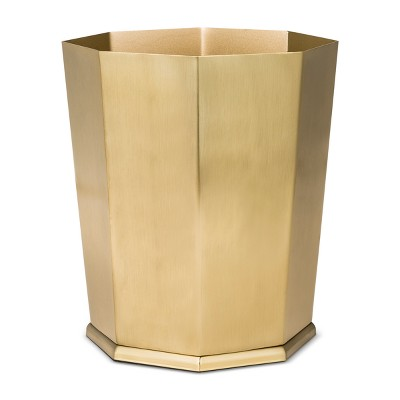 Bathroom Wastebasket Gold - Threshold™