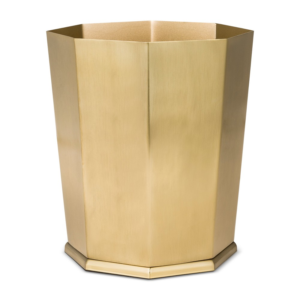 Bathroom Wastebasket Gold - Threshold