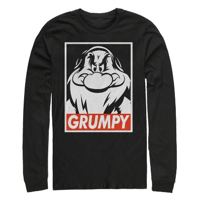 Men's Snow White and the Seven Dwarves Grumpy Long Sleeve Shirt