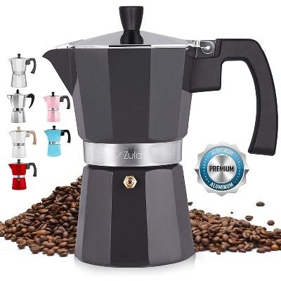 Classic Stovetop Espresso Maker Italian Style Moka Pot percolator for Espresso, Strong Coffee & Cuban Coffee