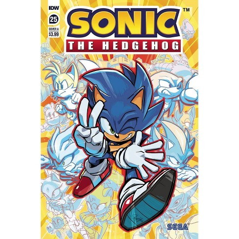Idw Sonic The Hedgehog 25 Comic Book Target