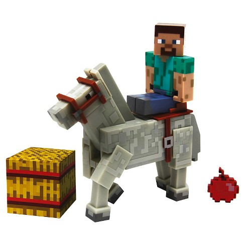 Minecraft Steve With Horse Pk - image 1 of 2