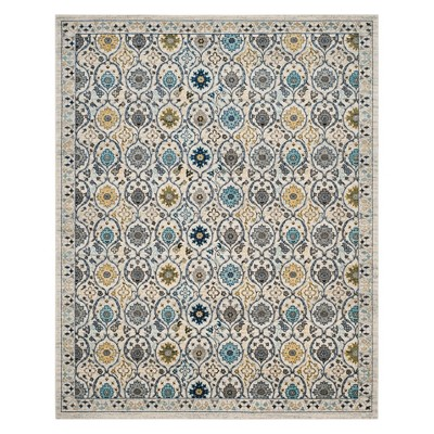 Mable Floral Loomed Accent Rug - Safavieh