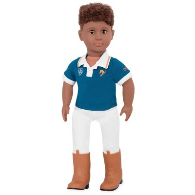 "Our Generation 18"" Horseback Riding Boy Doll - Tyler"