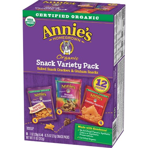 Annie's Homegrown Variety Snack Pack - 12ct - image 1 of 4