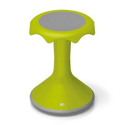 "VS America Hokki Stool Flexible Ergonomic Seating - 18"" Light Green"
