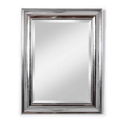 "21"" X 27"" Concert Beveled Glass Wall Mirror Silver - Alpine Art & Mirror"